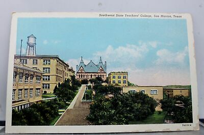 San Marcos College >> Tx San Marcos Southwest Texas State College President S
