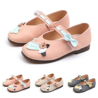 Cute Toddler Infant Kids Baby Girls Flower Cat Princess Shoes Casual Sandals