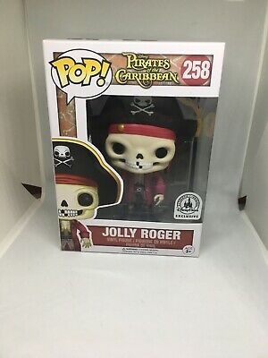 FUNKO POP #258 ~ Jolly Roger (Disney Parks Exclusive)