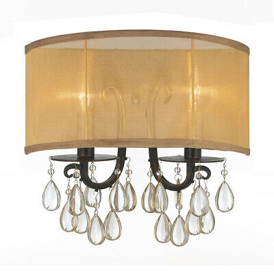 Crystorama 5622-EB Hampton Wall Sconce English Bronze