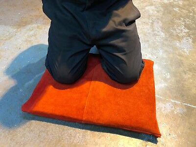 WELDSAFE Welders Large Leather Kneeling Mat