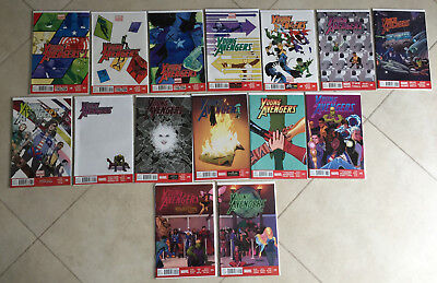 Marvel Comics Young Avengers 1 - 15 (15 Comics) Resolution Kiss & Makeup Toll