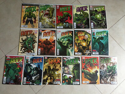 Marvel Comics Incredible Hulk 1 - 15 & 7.1 Stay Angry (15 Is Variant) {16 Comics