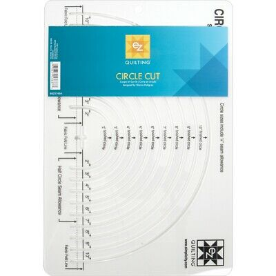 Easy Circle Cut - Quilting Ez Template Simplicity Acrylic
