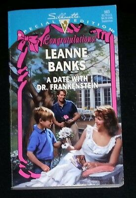 A Date With Dr. Frankenstein by Leanne Banks (Paperback)