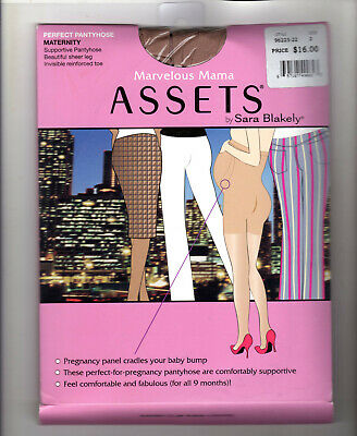 e4ae9fa546340 ASSETS Sara Blakely Spanx Marvelous Mama Perfect Pantyhose Maternity 3 Beige