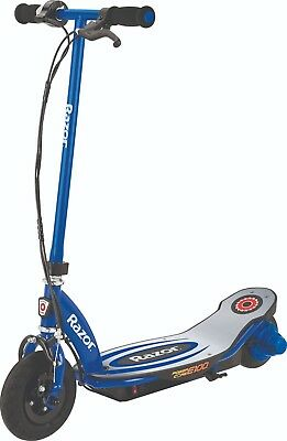 Razor E100 Powercore Electric Powered Scooter Blue Kids Boys Outdoor Toy RideOn