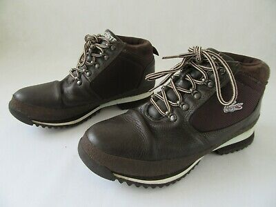 02fed72db9d Mens Lacoste Upton Bm Spm Hiker Leather Dark Brown Ankle Boots Uk 7