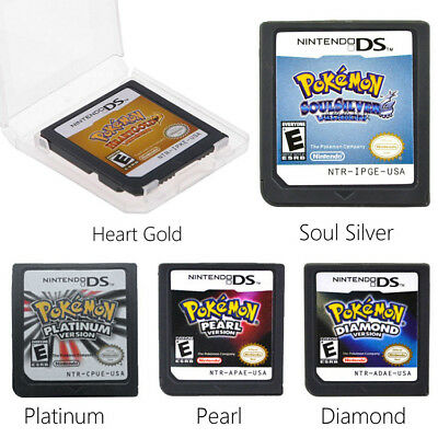 Pokemon Platinum/ SoulSilver Version Game Card Nintendo 3DS NDSI NDS Lite GS