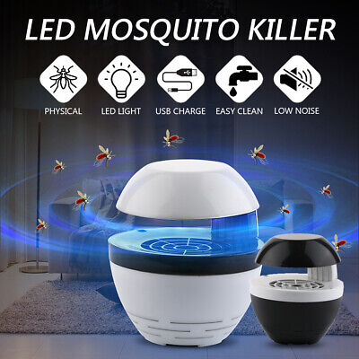 Electric Mosquito USB LED Light Insect Killer Pest Fly Bug Zapper Trap Lamp Home