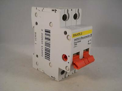 Square D 100 Amp Main Switch 100A Double Pole Isolator Domae DOM100SW