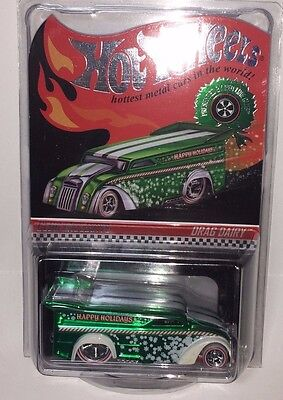 Hot Wheels RLC Redline Club Exclusive Holiday Drag Dairy - #3467/4000