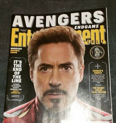 ENTERTAINMENT WEEKLY 4/19-26,2019 AVENGERS collectors cover (1 of 6)