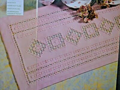 2449]X Stitch Chart-Hardanger Design, Motifs and Border from Mary Hickmott
