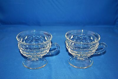 Indiana Glass Whitehall Footed Cups Set Of 2