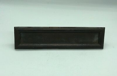 Antique Faceplate Box of Letter Copper for Door 24,5 x 6 Cm