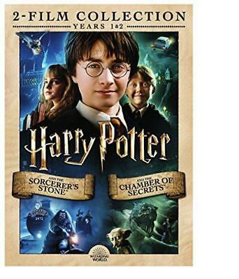 Harry Potter: Sorcerer's Stone, The/Chamber of Secrets, The (2-Pack) DVD NEW