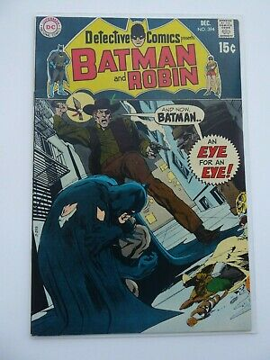Detective comics 394 VF+ High Grade Neal Adams! Batman