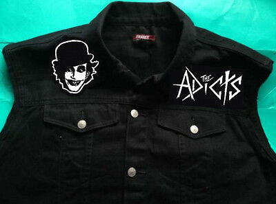 UNISEX HOODIE HOODY THE ADICTS MONKEY DROOGS CLOCKWORK ORANGE PUNK 1977 S-2XL