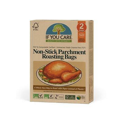 If You Care NonStick Parchment Roasting Bags for Turkeys-Extra Large-Unbleached