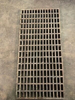 """Vintage Wooden Architectural Salvage Furnace Wooden Vent Cover 30"""" x 14.75"""" #3"""