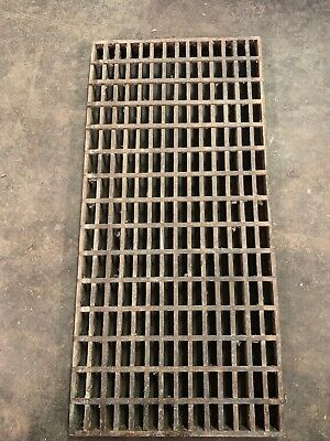 "Vintage Wooden Architectural Salvage Furnace Wooden Vent Cover 30"" x 14.75"" #3"