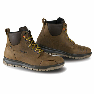 Falco Patrol Leather Boots Dark Brown
