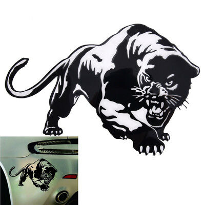 Fiery Wild Panther Hunting Car Body Decal Car Stickers Motorcycle Decoration VGC
