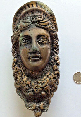 Vintage Bronze Venetian Saint Door Knocker Cast from Door in  Antiqua Guadamala