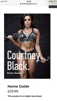 Courtney Black Home Workout Guide PDF * FULL OFFICIAL GUIDE SENT SAME DAY*