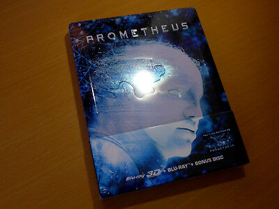 FAC FilmArena Numbered Edition Prometheus 3-Disk Steelbook [3D 2D Blu-ray] NEU
