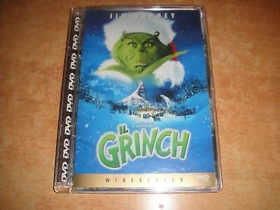 Il Grinch  - Dvd Jewel (Jim Carrey) Fuori Catalogo Raro !