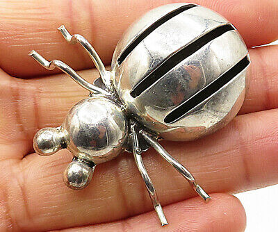 Mexico 925 Sterling Silver Vintage Music Lover Ring Brooch Pin Bp1349 Online Shop