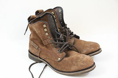 CAT MEN'S BROWN Orson II Lace Up Boot Brand New in Box