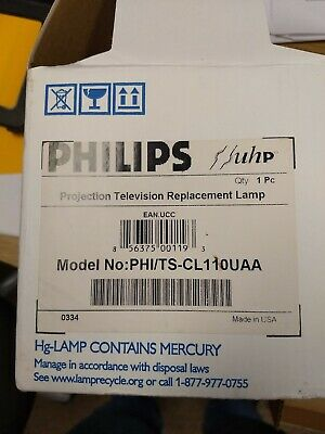 Philips Lamp/Bulb/Housing for JVC TS-CL110UAA HD56G786, HD56G787, HD56G886