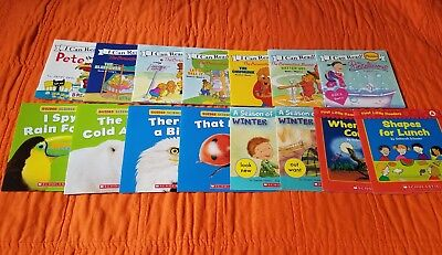 Scholastic I Can Read Phonics, Guided Science Readers (Lot 15) Early Readers