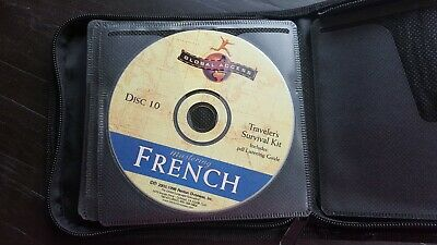 GLOBAL ACCESS MASTERING FRENCH SERIES (10 CDs) with CASE (1998, 2003) EXCELLENT!