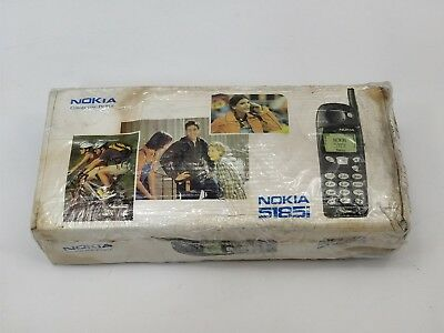 Vintage Nokia 5185i  Cellphone with Charger in box Qwest Box