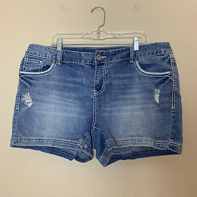 f79aed189d MAURICES SHORTS DISTRESSED Denim Lace Size 1/2 - $8.98 | PicClick
