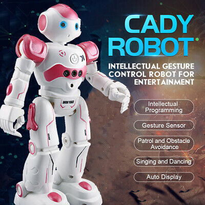 Smart Robot Toys Remote Control Robot Gift for Boys kid's Companion Sing Dancing
