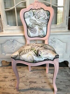 French Style Louis Chair Designers Guild Fabric Papillons