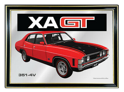 Bar Mirror/picture/mancave Sign/artwork A4 Suit Ford Xa Gt Enthusiast Gift