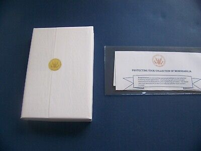 George W. Bush signed 41 Portrait of My Father, with Presidential Seal