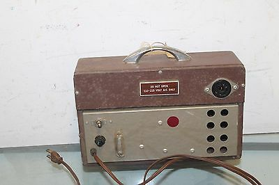 Tube Tester Brown 110- 115 Volt A.C ONLY Vacuum Tube Tester