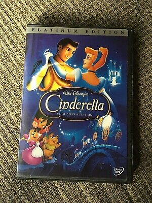 Cinderella (DVD, 2-Disc Set, Special Edition - DVD Platinum Collection) DISNEY