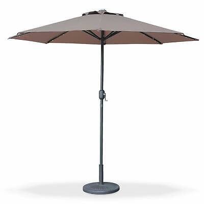 Parasol, sombrilla central, Marrón, 270cm | Helios