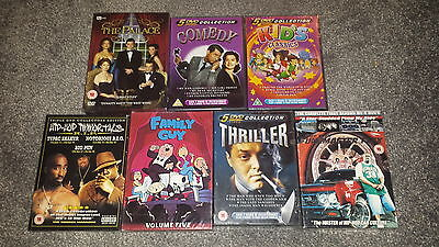 New & Sealed - Dvd Job Lot Of 7 Boxsets - Wholesale Dvds
