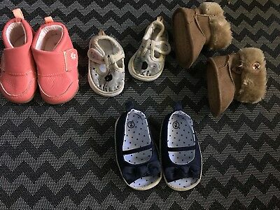 Baby Girl Crib Walking Mixed Lot Shoes 1-3 Months Winter ❄️ Summer Fall Carter's