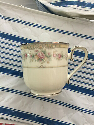Noritake Pattern #9729 Shenandoah 11 Cup and OR 11 Saucer Victorian NEW
