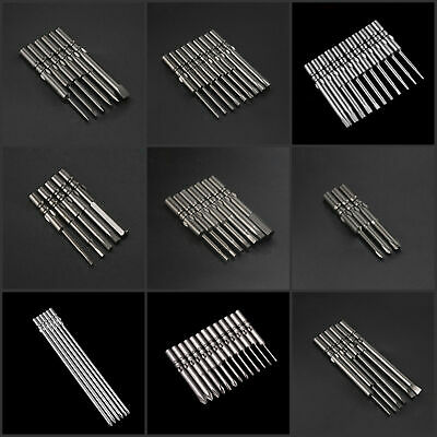 Slotted Phillips Hex Torx Star Triangle Tri Wing Y Tip Head Screwdriver Bit Set